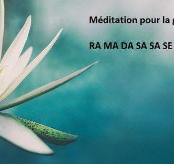 Méditation guérison